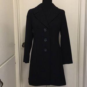 Talbots trench coat size 6